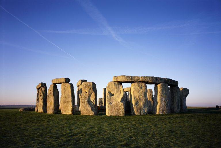 Stonehenge on a Clear & Sunny Day Full Width